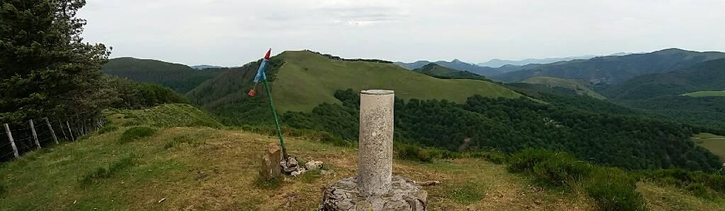 Txopinko erabiltzailea Altzegi (Altzadi) puntan, 2017-05-28 16:06