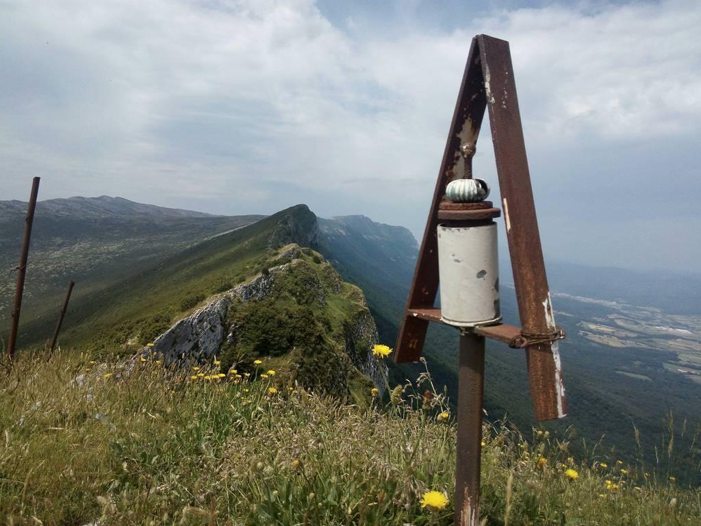 Amaia Zabala erabiltzailea Satrustegiko haitza puntan, 2018-06-30 17:01