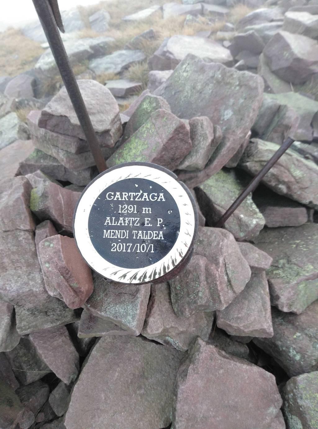 Unai Erregerena erabiltzailea Gartzaga puntan, 2018-11-17 08:35