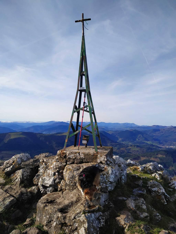 Josetxu moreno erabiltzailea Pico de la Cruz puntan, 2018-12-04 12:09