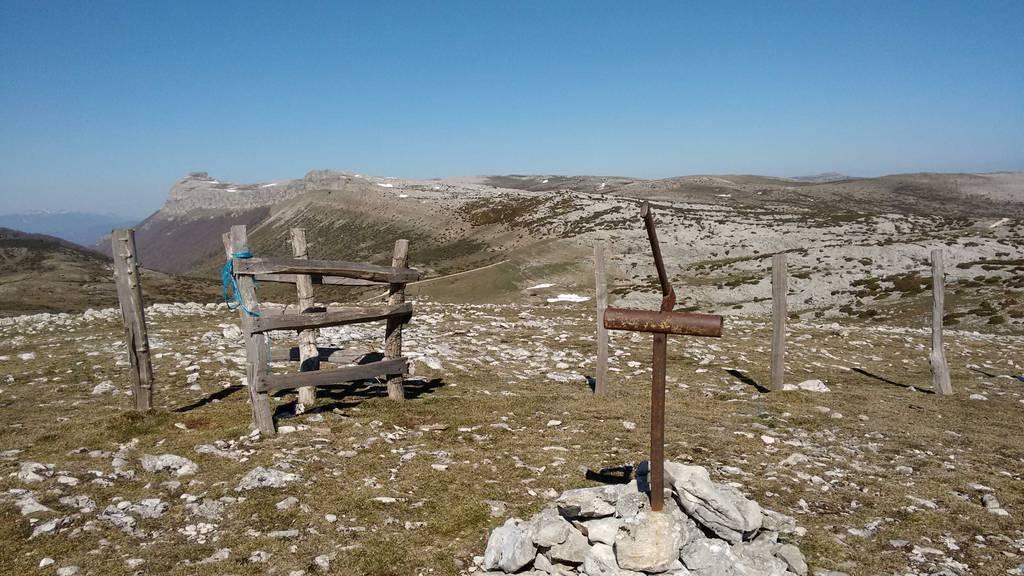 Maider Garaikoetxea erabiltzailea Trekua / Alto de las Bordas Viejas puntan, 2019-03-24 11:10