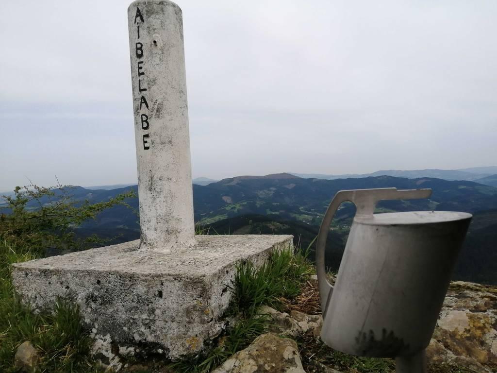 Ieltxu Orueta erabiltzailea Aizbelaga puntan, 2019-04-19 12:52