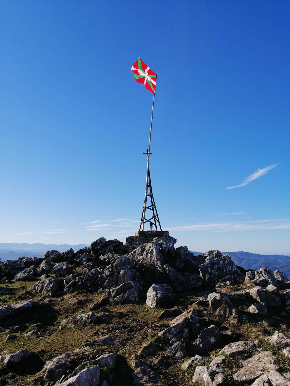 Andoni Alday erabiltzailea Pico de la Cruz puntan, 2020-01-12 15:59