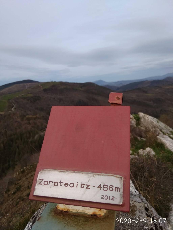 Daniel Larringan erabiltzailea Zarateaitz puntan, 2020-02-09 18:06