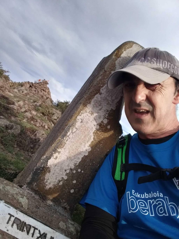 Roman Aranegi erabiltzailea Trintxuleku puntan, 2020-02-16 10:08