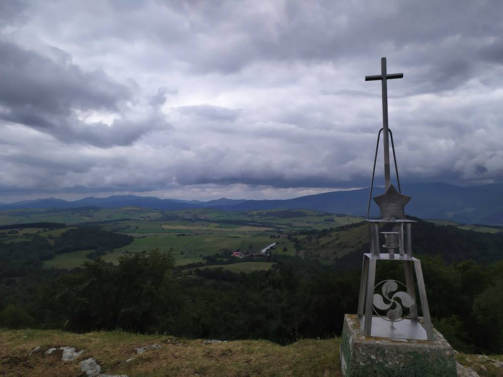 Jon Mikel Hurtado de Saratxo erabiltzailea Estuñaga / Alto del Corral puntan, 2020-06-09 16:16
