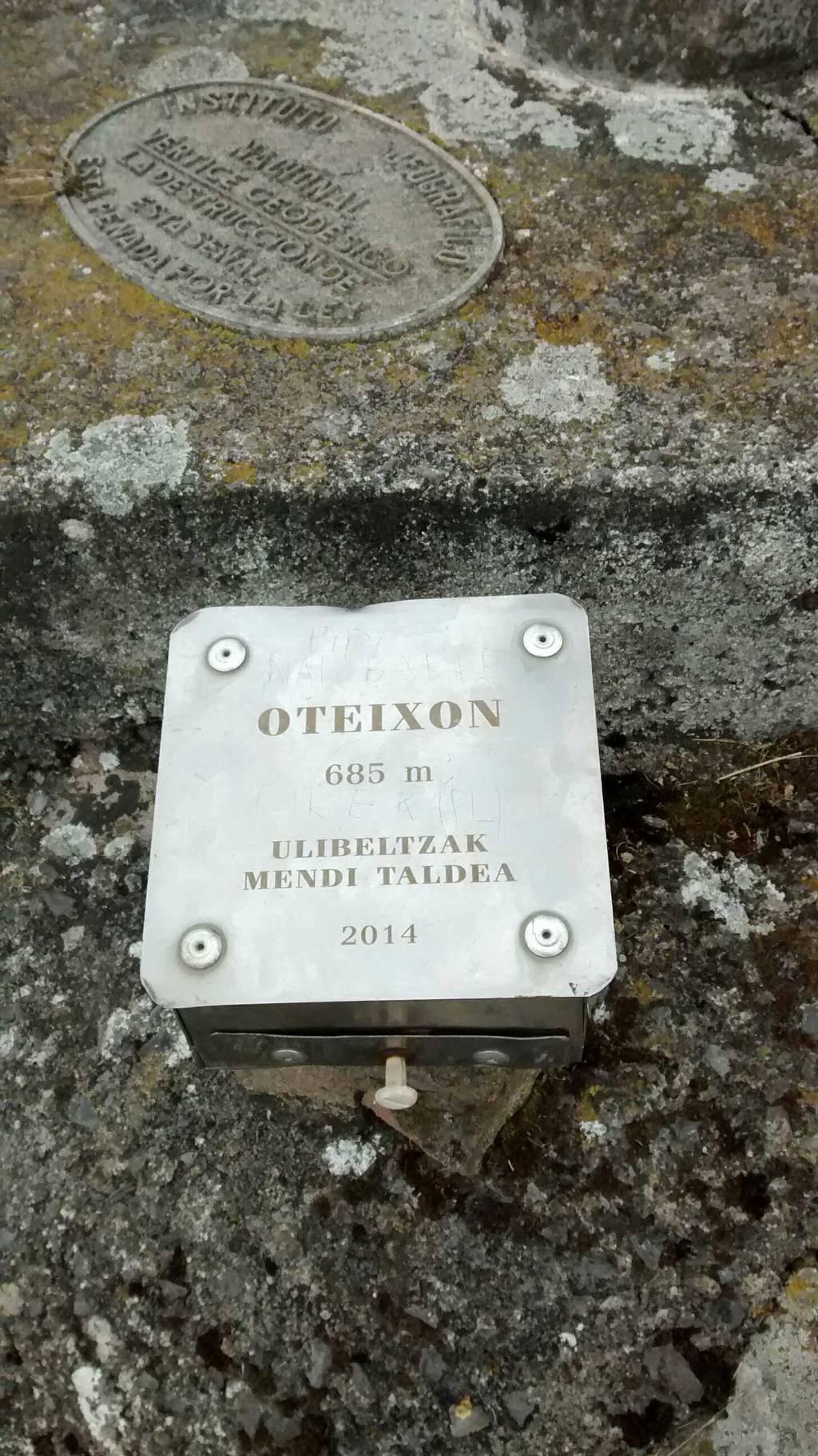 Ramon Emazabel erabiltzailea Oteitzoiana puntan, 2020-06-22 10:32