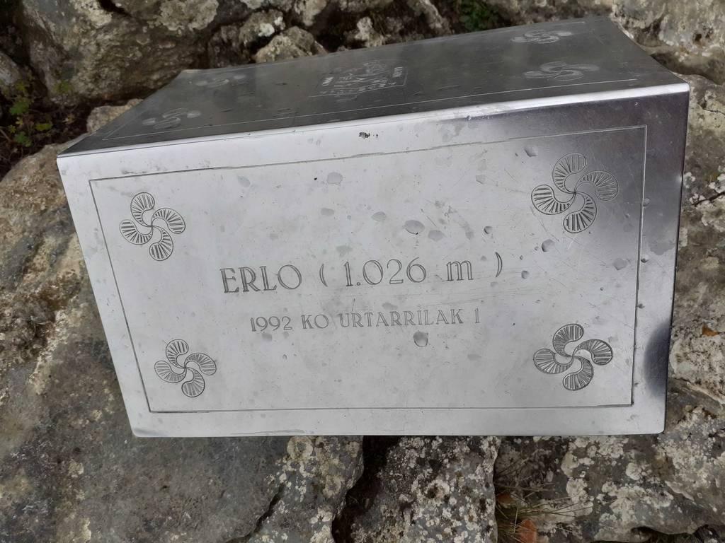 jaione guisasola urzelai erabiltzailea Erloko gurutzea puntan, 2020-08-02 18:14