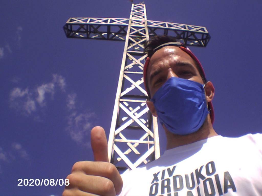 Andoni Oyarzabal erabiltzailea Irimo puntan, 2020-08-08 11:30