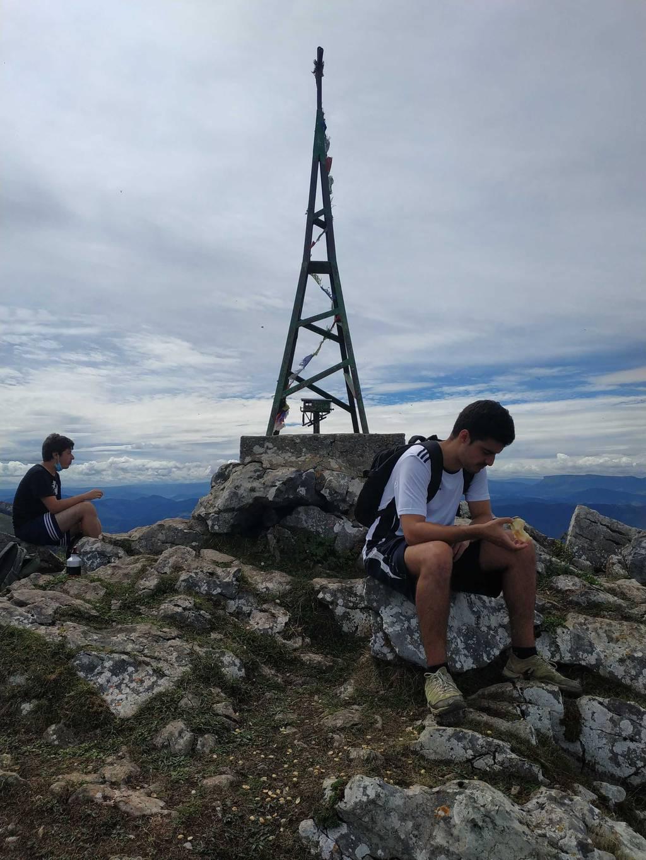 Aitor Torre erabiltzailea Pico de la Cruz puntan, 2020-08-18 12:53
