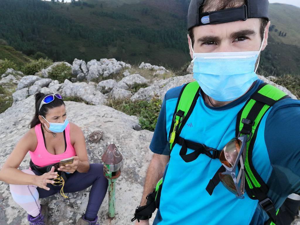 Eneko Romero erabiltzailea Pico de la Cruz puntan, 2020-08-22 11:24