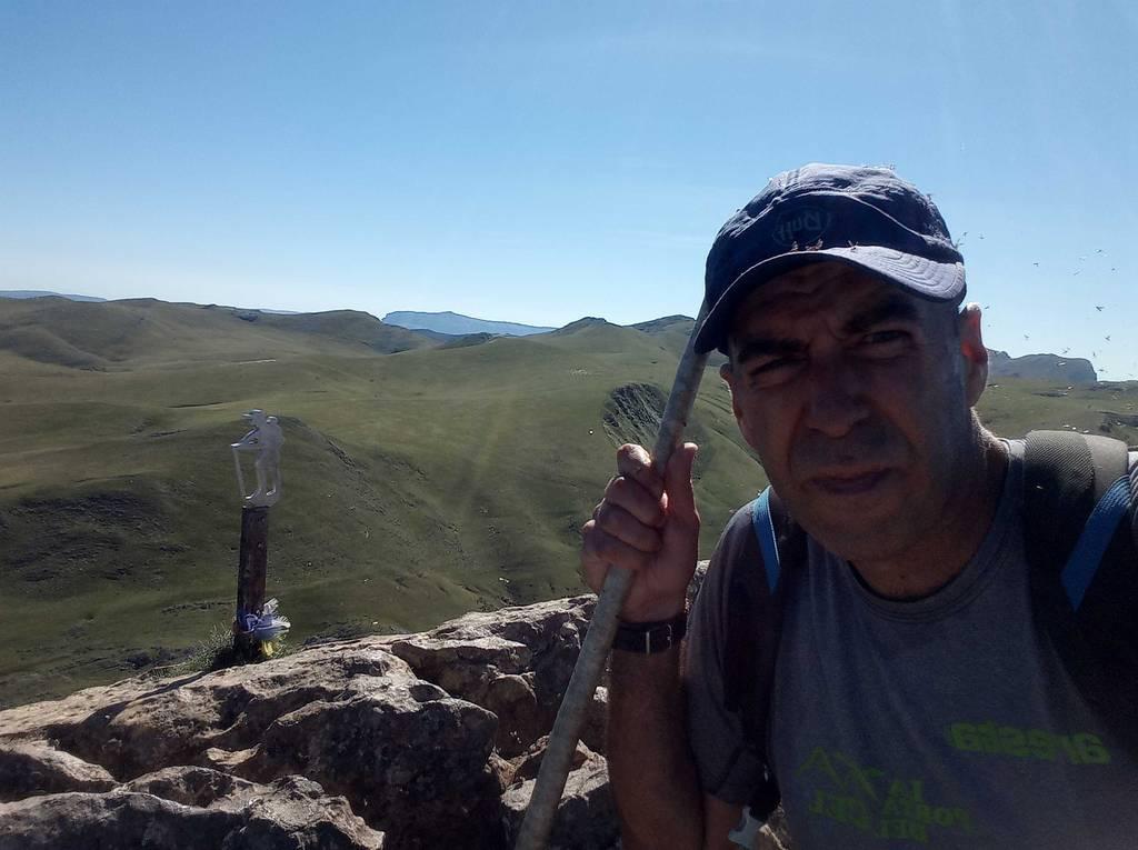 Unai Igartua erabiltzailea Larrunarri / Txindoki puntan, 2020-08-25 12:46