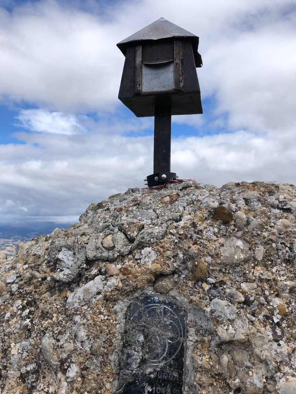 Edurne Sanzo erabiltzailea Montejurra / Jurramendi puntan, 2020-08-29 16:31