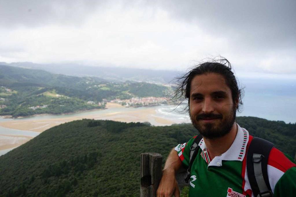 Xabier Gutiérrez erabiltzailea San Pedro Atxarre puntan, 2020-08-22 13:50