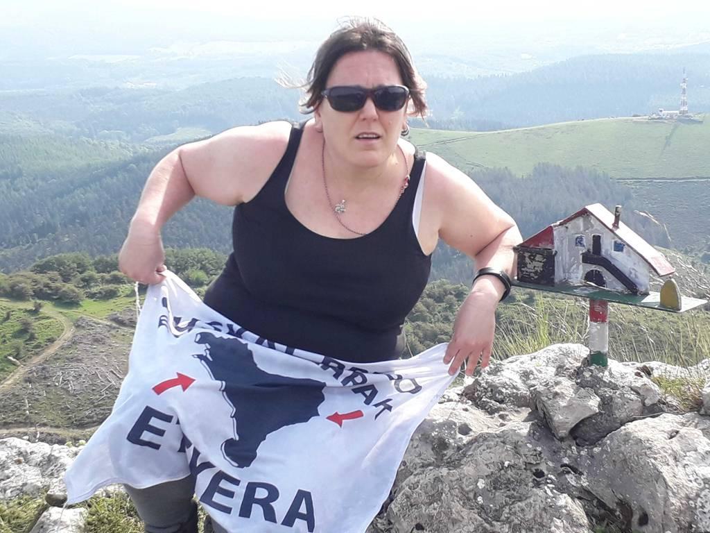 Sonia Campos erabiltzailea Arralde puntan, 2020-05-31 10:50