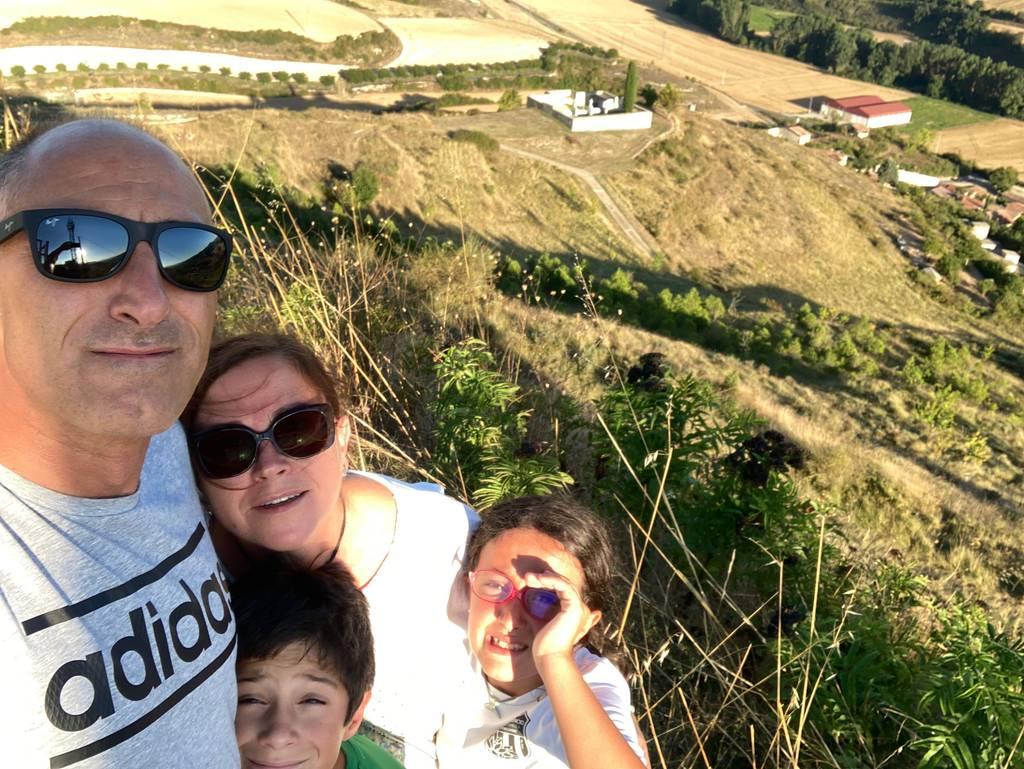 Gorka Belamendia erabiltzailea Cerro del Castillo puntan, 2020-09-04 19:22