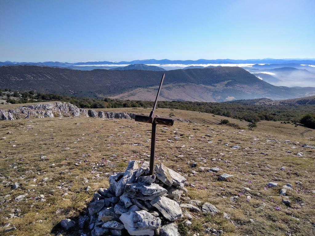 Garaitz zabala erabiltzailea Trekua / Alto de las Bordas Viejas puntan, 2020-08-27 10:10
