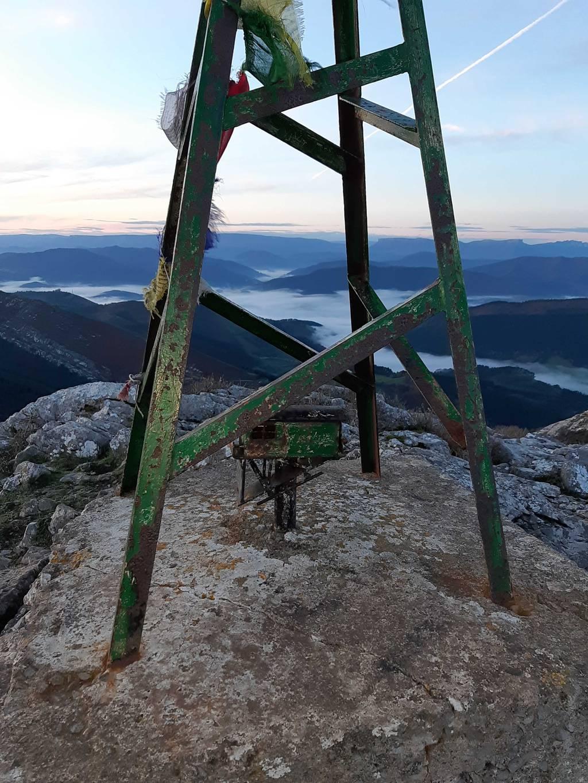 Irrintzi L erabiltzailea Pico de la Cruz puntan, 2020-11-28 08:22