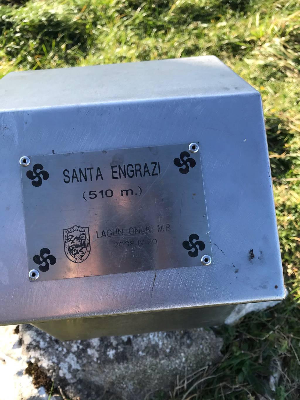 Garazi T erabiltzailea Santa Engrazia puntan, 2020-11-28 16:50