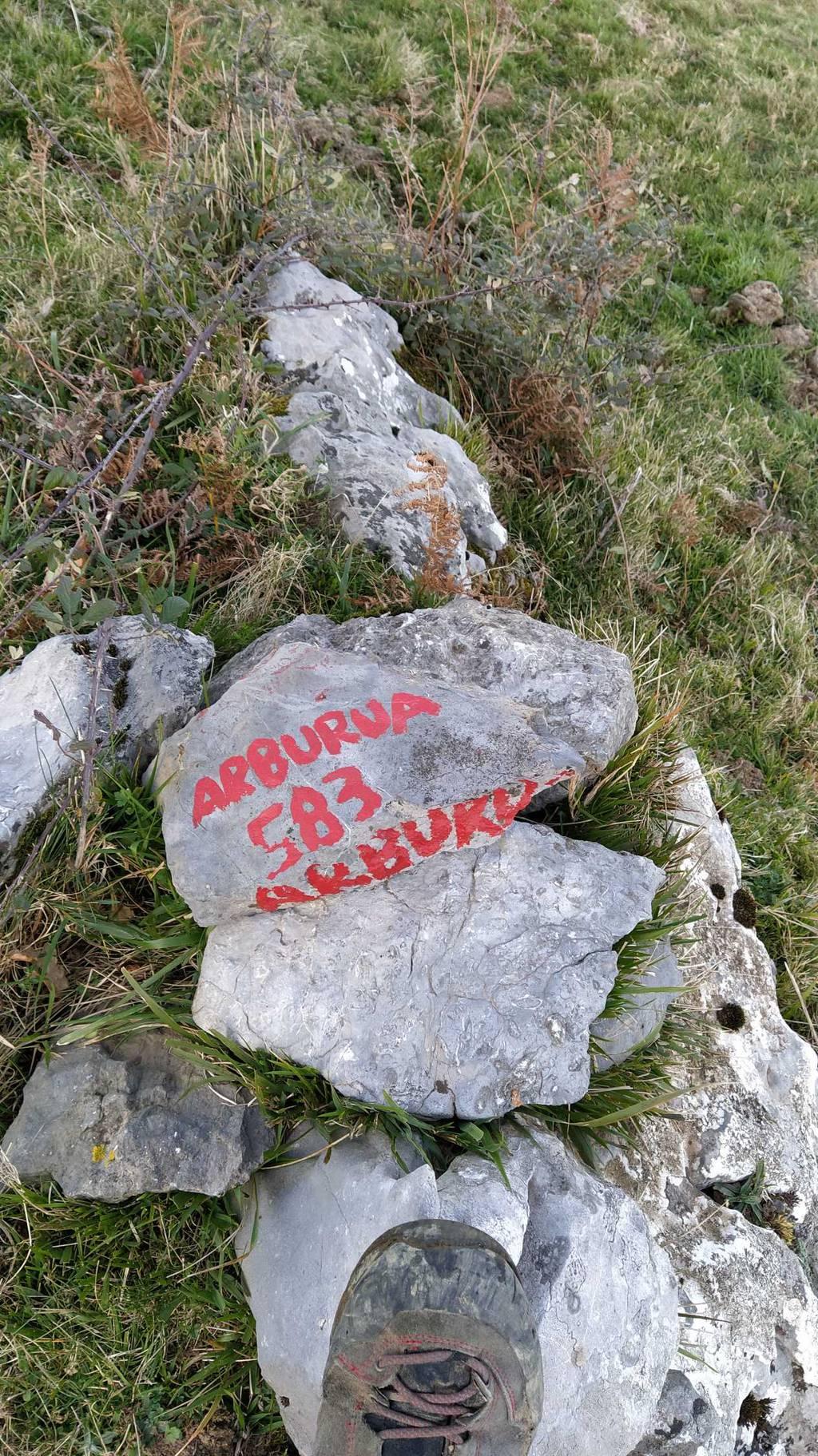 Patxi Otegi erabiltzailea Arburua puntan, 2020-11-28 16:35