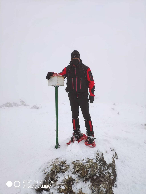 Imanol Aranburu erabiltzailea Murugil (Pagoeta) puntan, 2021-01-10 18:03