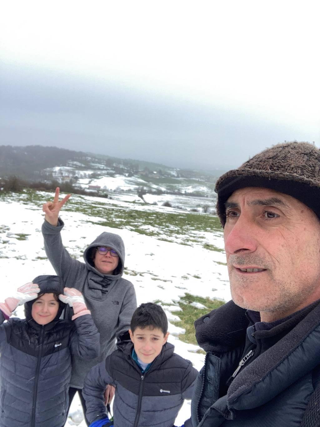 Gorka Belamendia erabiltzailea Pico Redondo puntan, 2021-01-17 12:53