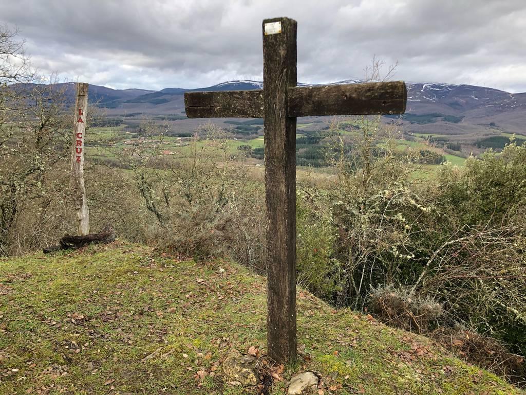 Beñat vazquez nicolarena erabiltzailea Cruz de Larrea puntan, 2021-01-24 13:48