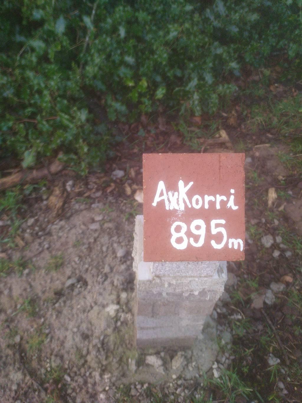 AneeeAM erabiltzailea Askorri puntan, 2021-02-09 17:37