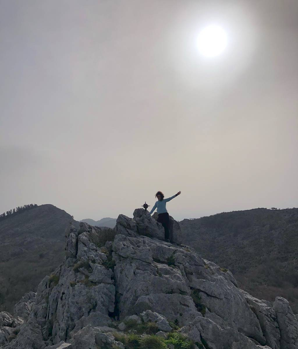 Sari txu  erabiltzailea Krutzuaga (Antzubil) puntan, 2021-02-21 11:51