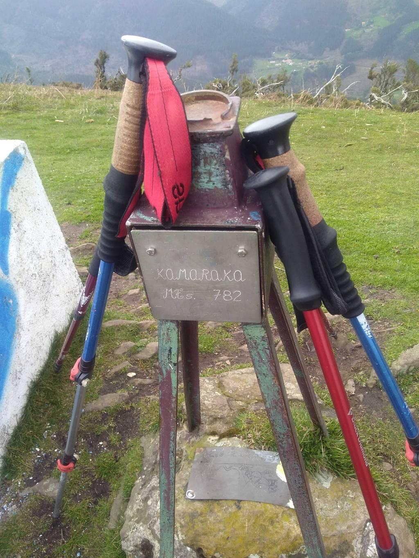 Maria Luisa Ordeñana Ocerin erabiltzailea Kamaraka puntan, 2021-03-18 11:29