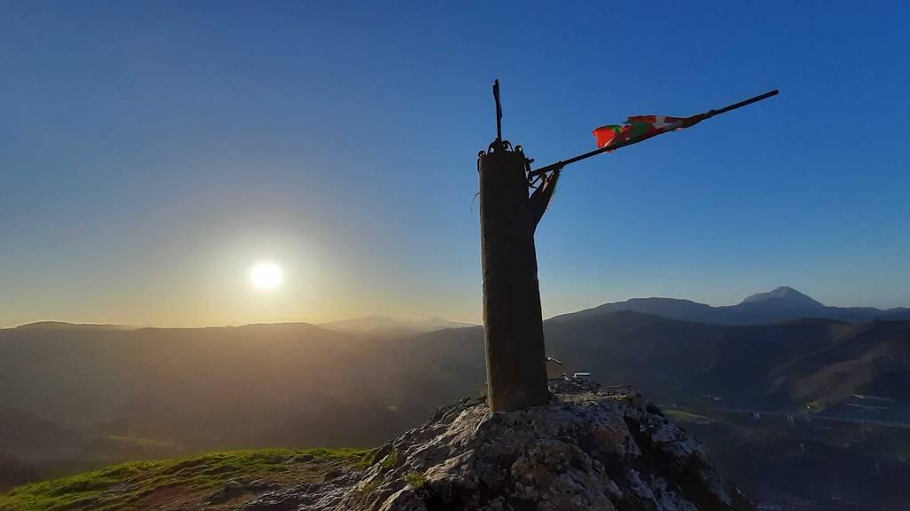 Josu Barandiaran erabiltzailea Atxorrotx (Aitzorrotz) puntan, 2021-03-27 18:43