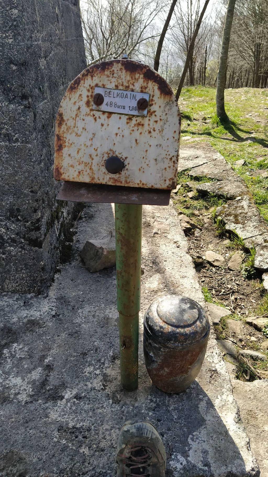 Patxi Otegi erabiltzailea Belkoain puntan, 2021-03-27 14:24