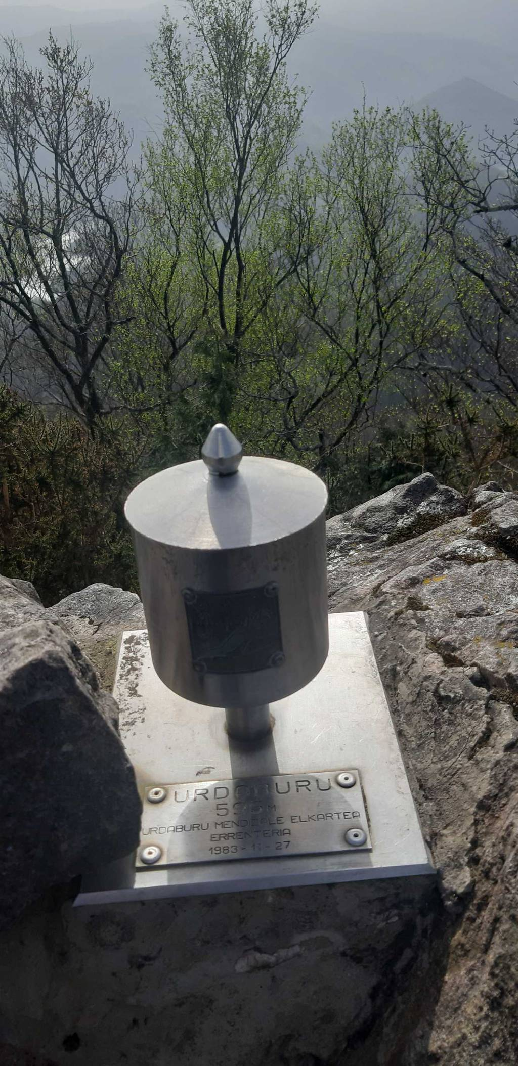 Irrintzi L erabiltzailea Urdaburu puntan, 2021-04-02 10:48