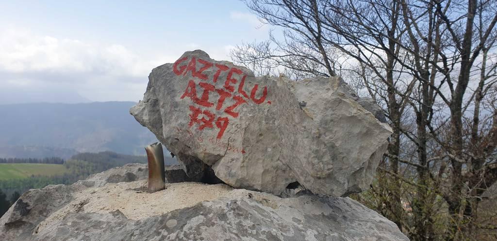Paul erabiltzailea Gazteluaitz puntan, 2021-04-03 13:09