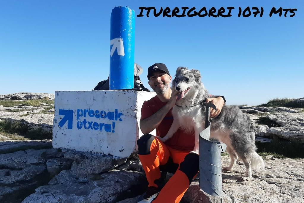 GUILLERMO SANCHEZ PEREZ erabiltzailea Iturrigorri (Tologorri) puntan, 2021-04-05 14:33