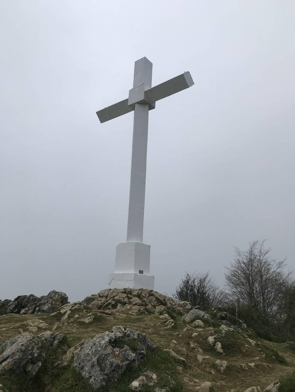 Judith Segurola erabiltzailea Pagoetako gurutzea puntan, 2021-04-05 19:06