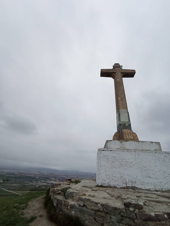 Itsaso Lerele erabiltzailea Santakuruzgana (Olarizu) puntan, 2021-04-06 10:49