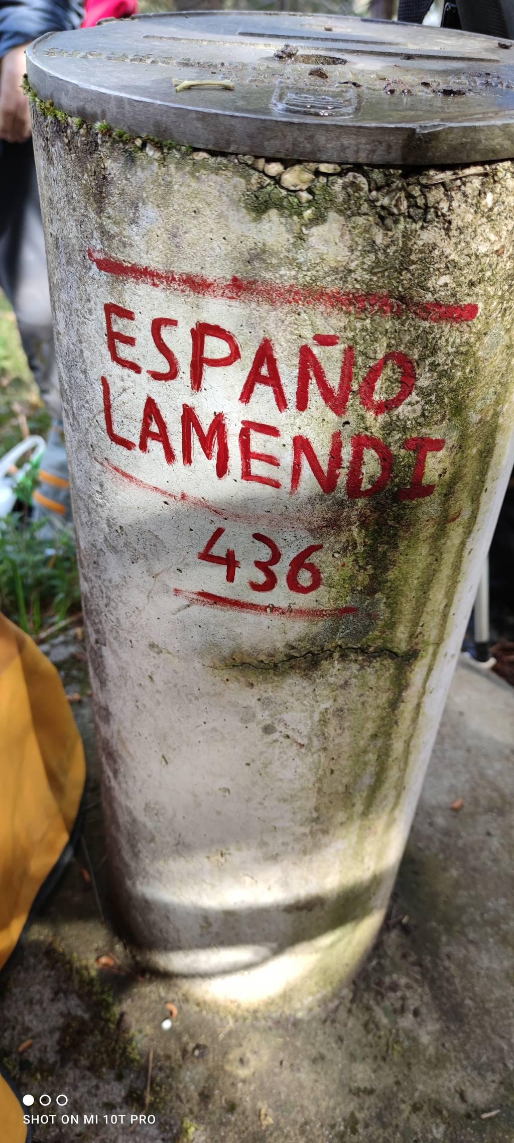 ANTONIO GARCIA NADAL erabiltzailea Españolamendi puntan, 2021-03-18 11:06
