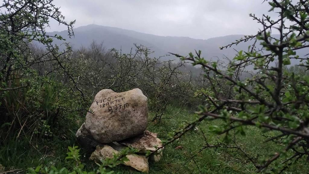 AneeeAM erabiltzailea Pico de Izartza puntan, 2021-04-28 11:10