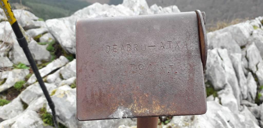 Dabid Beitia erabiltzailea Deabru Atxa puntan, 2021-03-27 16:57