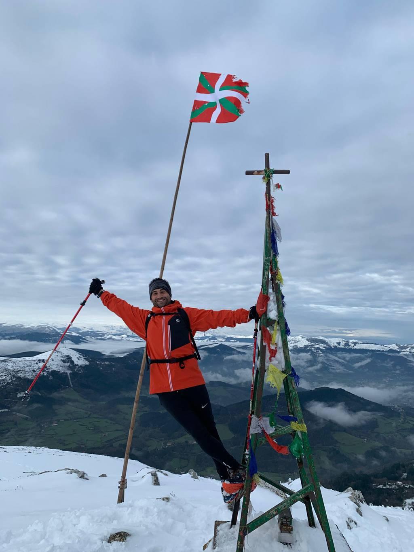 Iñigo Egiluz erabiltzailea Pico de la Cruz puntan, 2021-05-10 21:47