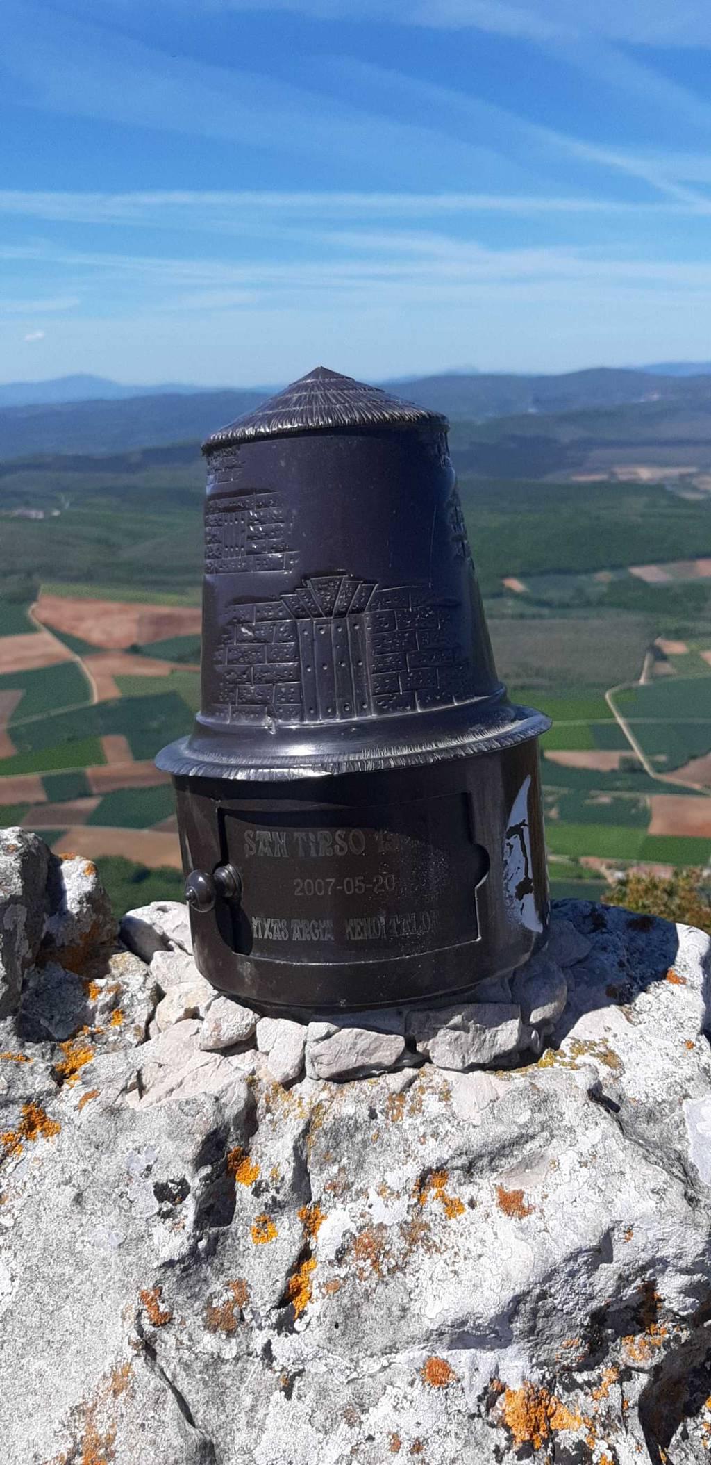Irrintzi L erabiltzailea San Tirso puntan, 2021-05-20 16:01