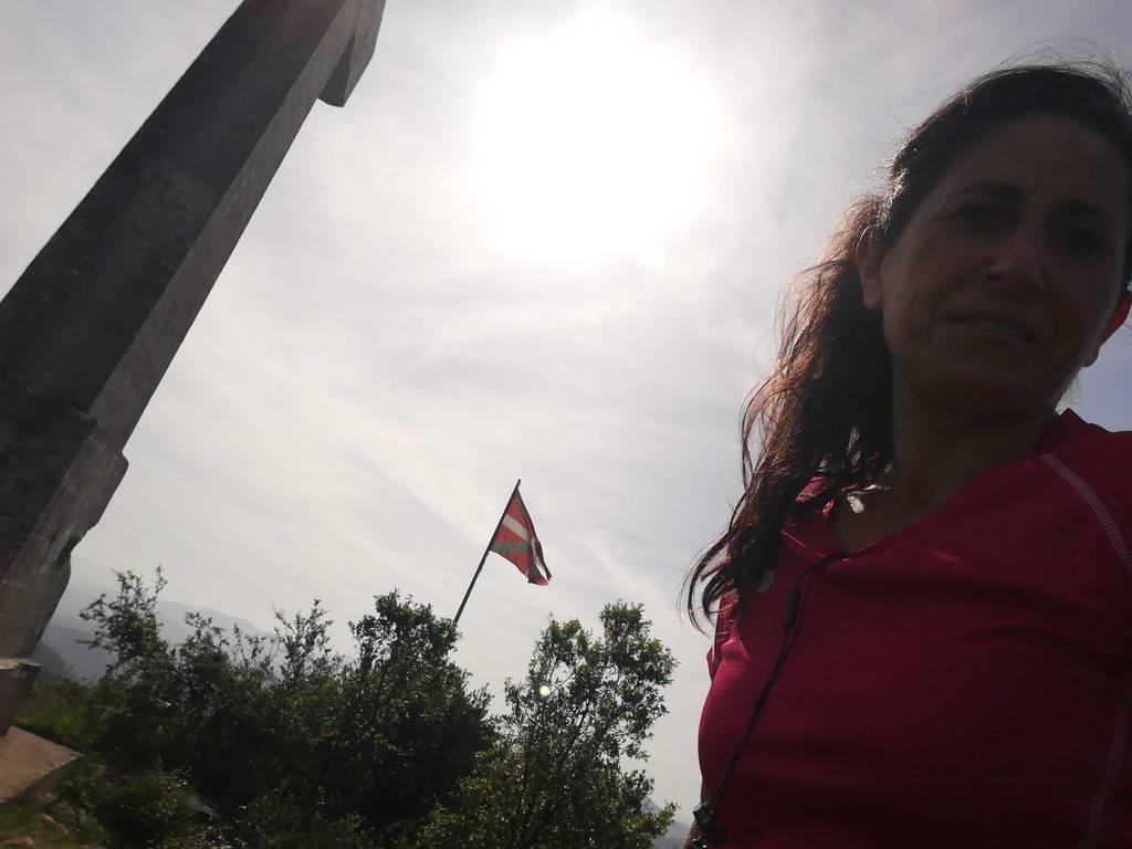 Tamara Txikon erabiltzailea Lemoatxa / Gantzabal puntan, 2021-05-27 18:06