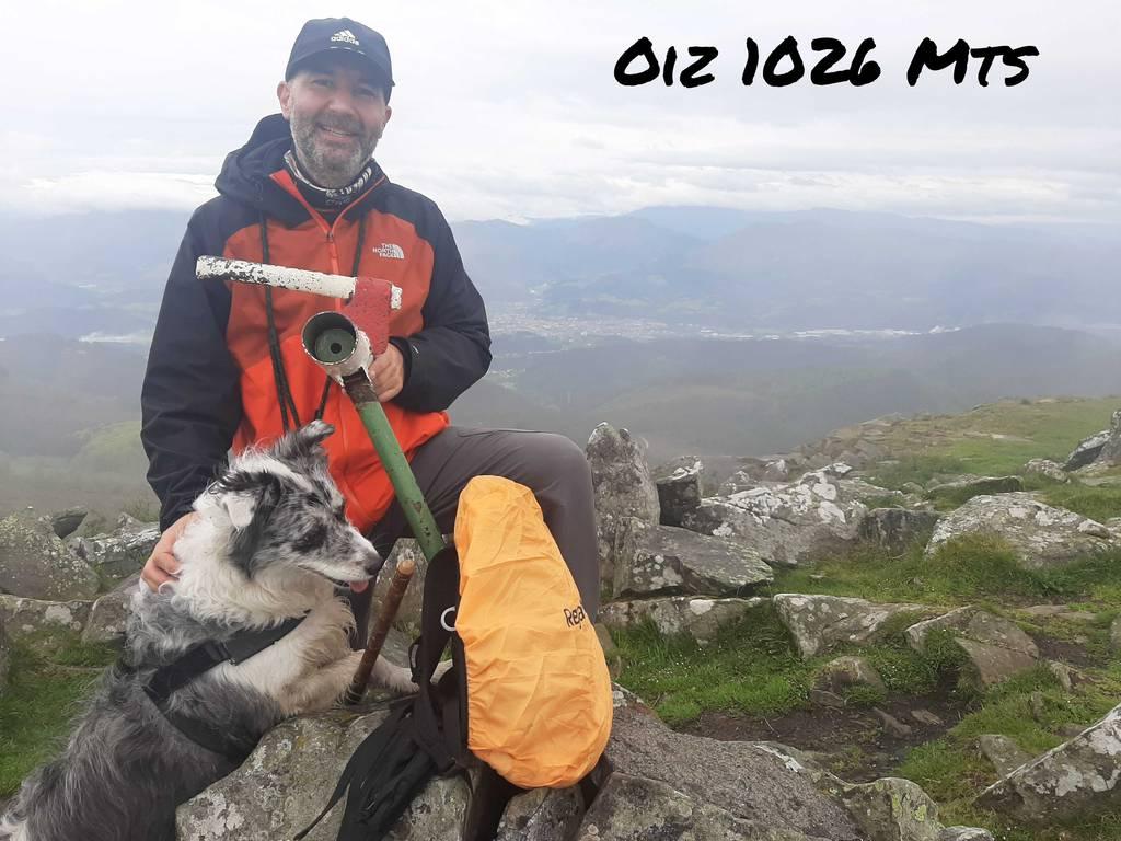 GUILLERMO SANCHEZ PEREZ erabiltzailea Oiz puntan, 2021-05-28 19:07