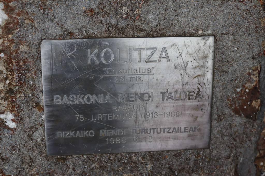 ainara txertudi erabiltzailea Kolitza puntan, 2021-06-06 12:55