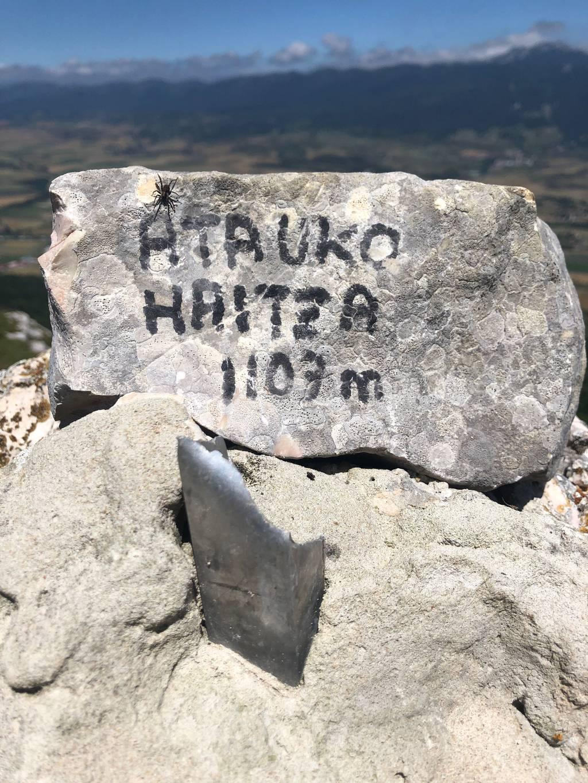 Saioa Arzamendi erabiltzailea Atauko Haitza puntan, 2021-06-25 13:09