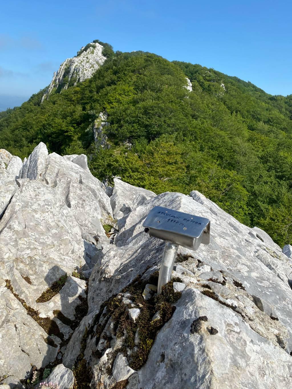 Enaitz Cuevas erabiltzailea Atxulaur haitza puntan, 2021-07-09 18:08
