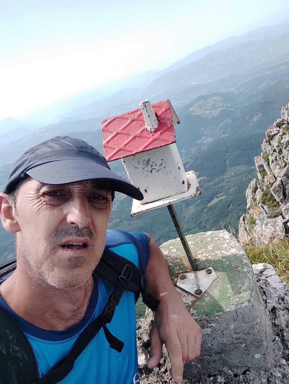 Roman Aranegi erabiltzailea Aketegiko erpina puntan, 2021-07-20 11:52