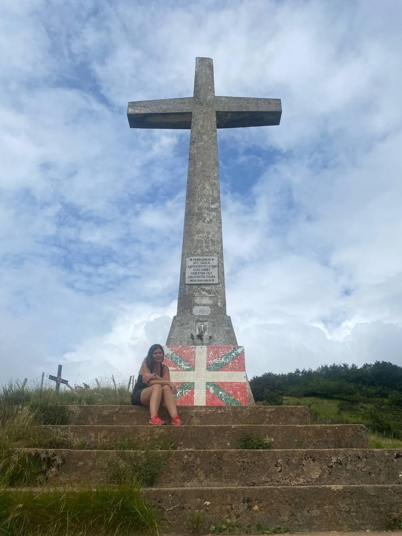 Meri Barandiaran erabiltzailea Uzturreko gurutzea puntan, 2021-07-25 16:44