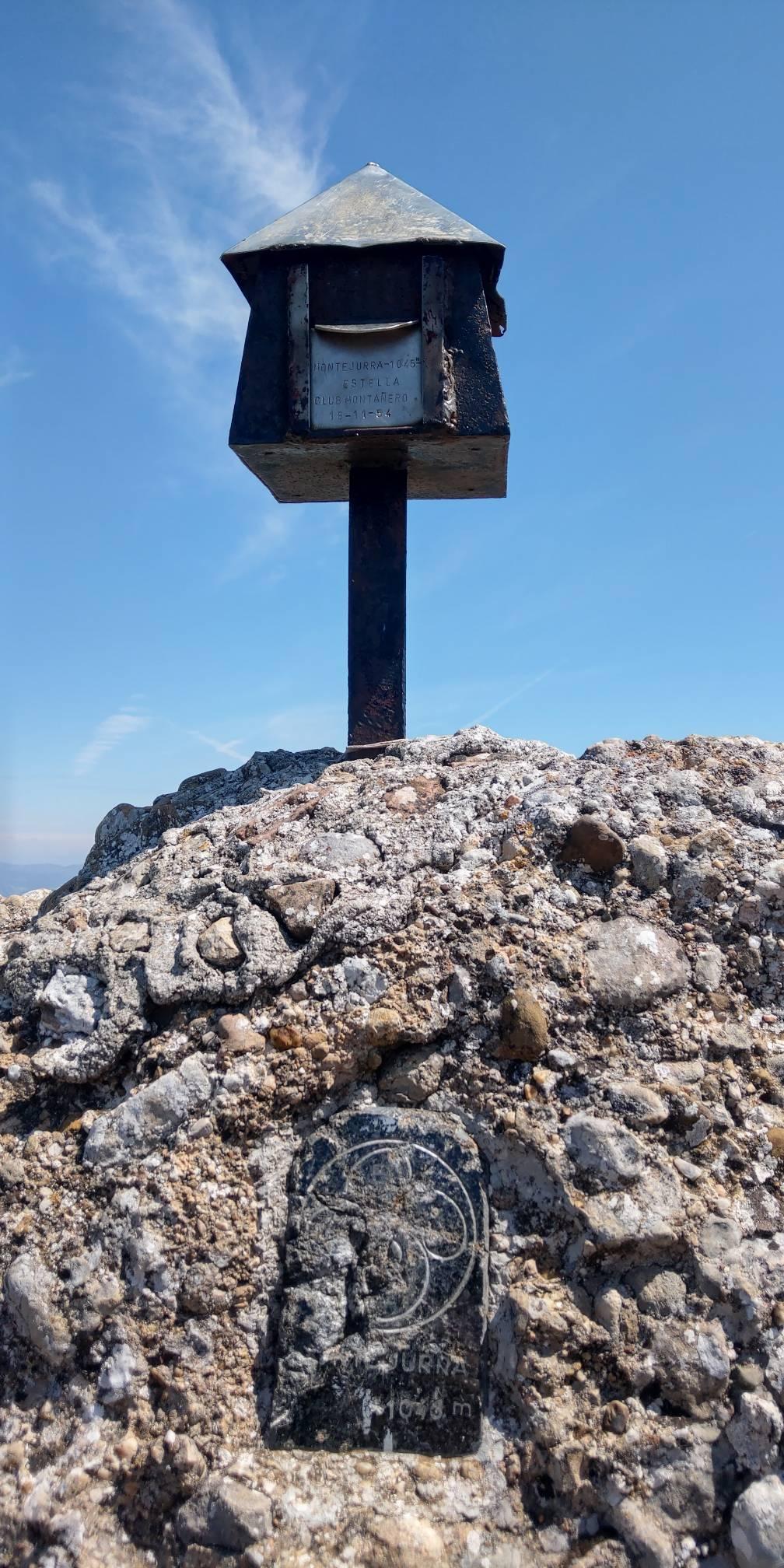 Asier Bidaurre erabiltzailea Montejurra / Jurramendi puntan, 2021-08-03 13:00